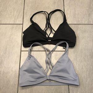 Victoria Secret Sport Bras Bundle Plunge V Neck